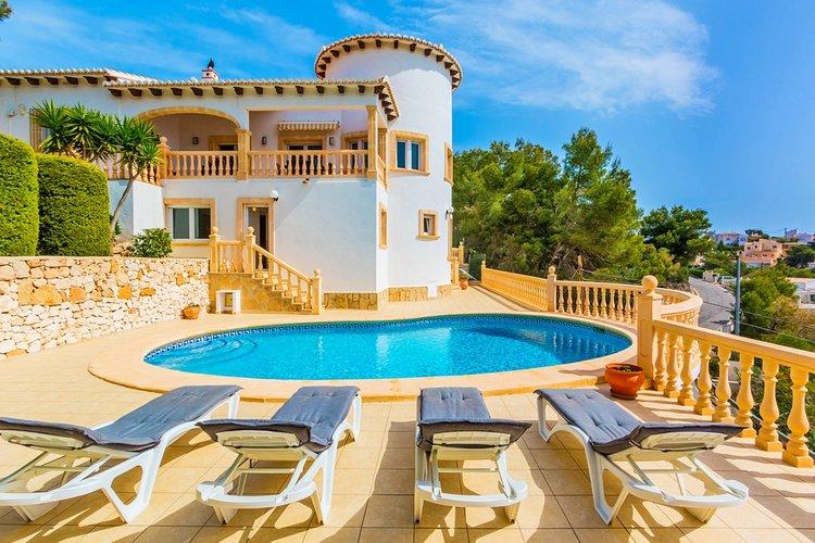 Villa spectaculaire avec vue sur la mer