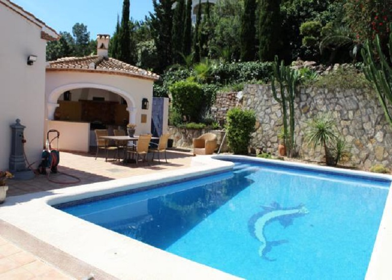 Vrijstaande villa in La Sella Golf Resort - Bestaande bouw